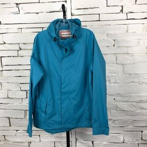 Hunter Rain Jacket Hoodie Full Zip Medium 1784